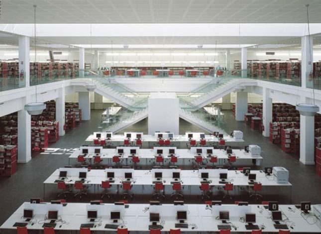 Érdekes könyvtárak