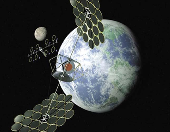 Kína erőművet építene az űrben