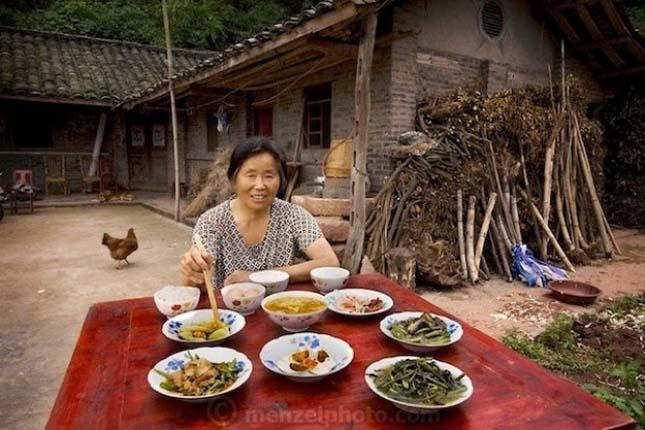 Ételadagok a világ különböző országaiban