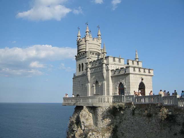 Fecskefészek-kastély, Ukrajna