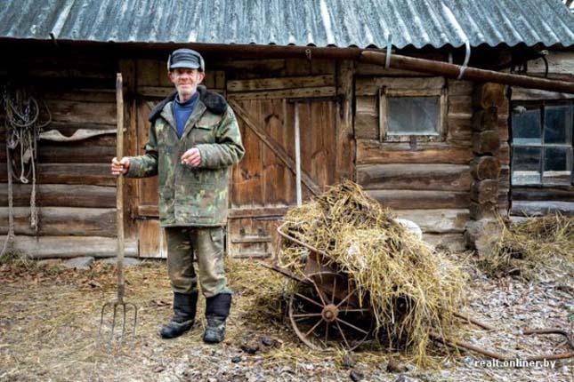 Fehérorosz falu