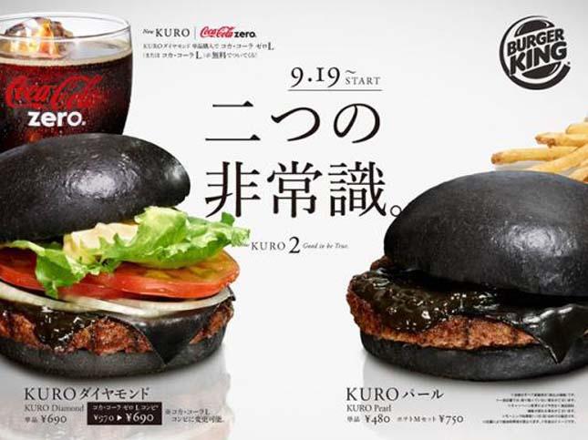 Fekete hamburger