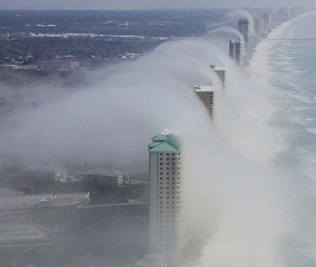 Felhőcunami, Panama City