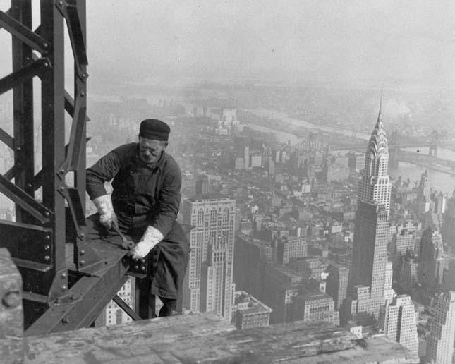 Felhőkarcolók építése