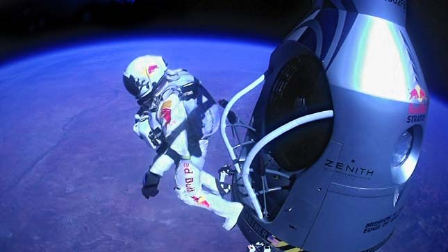 Felix Baumgartner űrugrása