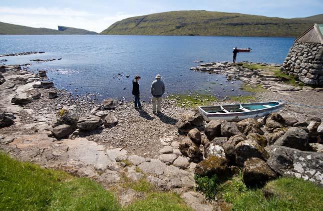 Sorvágsvatn, a Feröer-szigetek legmélyebb tava