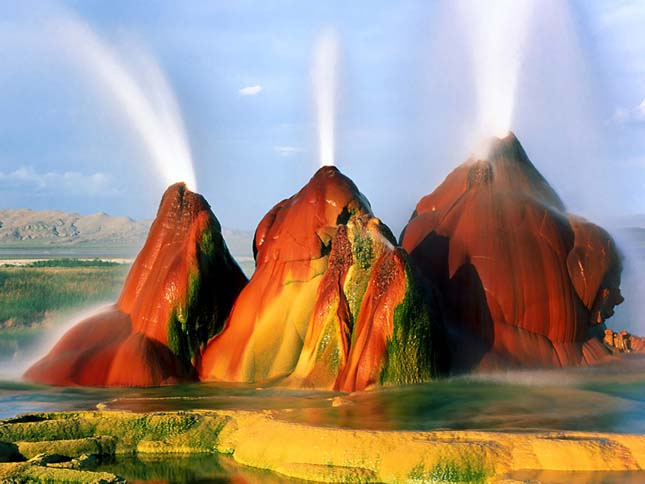 Fly gejzír, Nevada