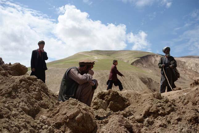 Földcsuszamlás afganisztánban