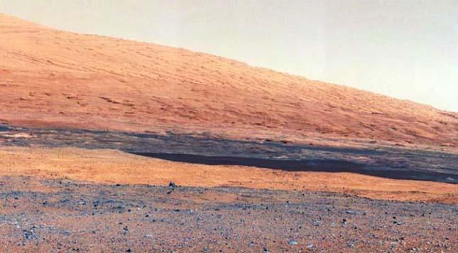 Curiosity a Marson
