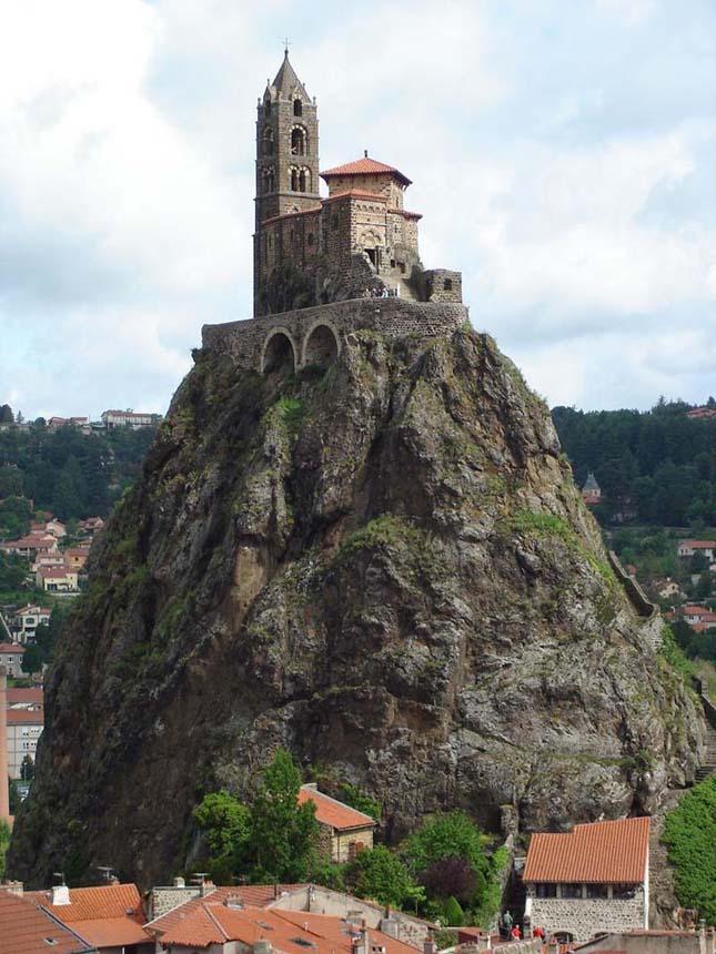 Saint Michel d'Aigulihe kápolna, Franciaország