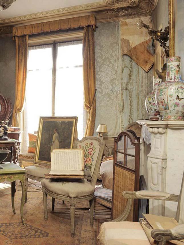 Műkincseket rejtő párizsi lakás