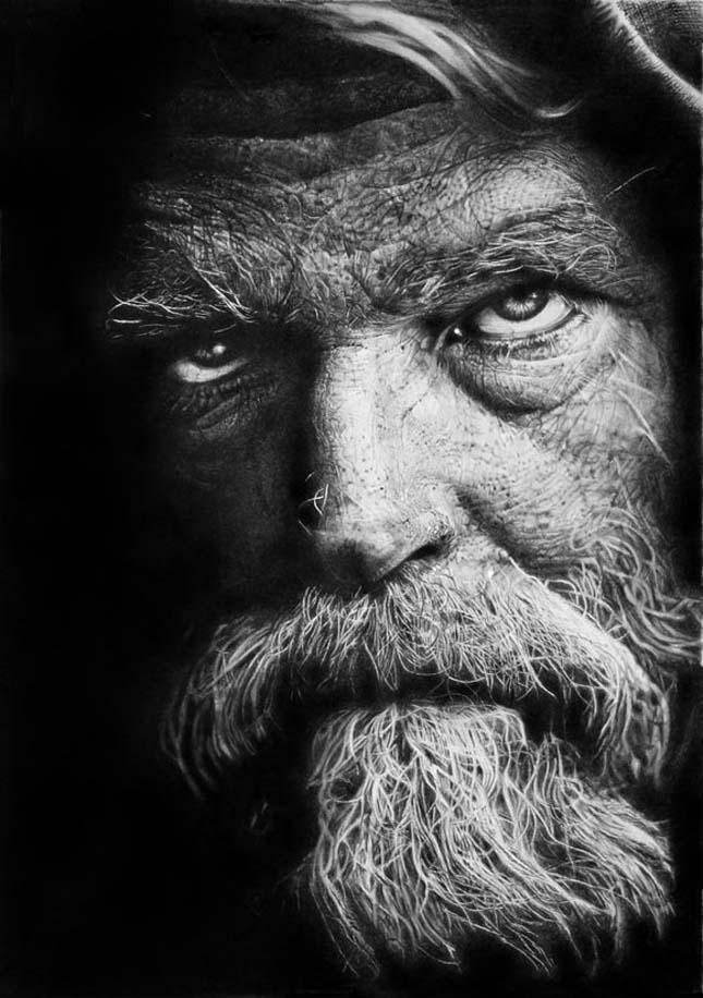 Franco Clun ceruzarajzai