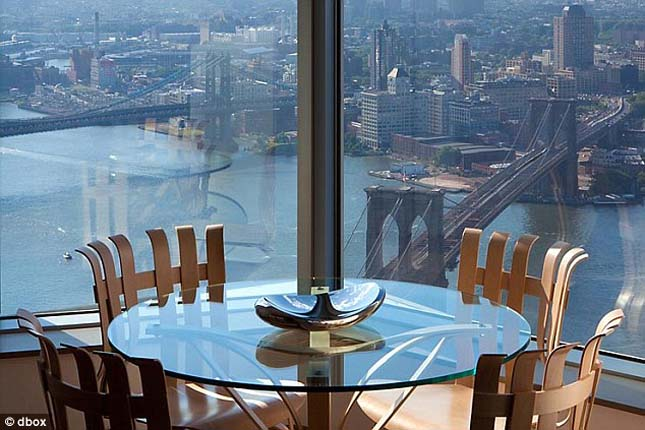 Frank Gehry penthouse