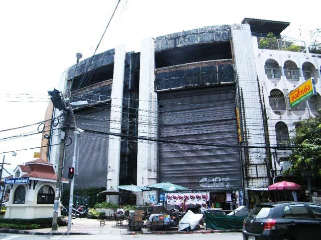 Halak élnek az egykori bevásárlóközpontban