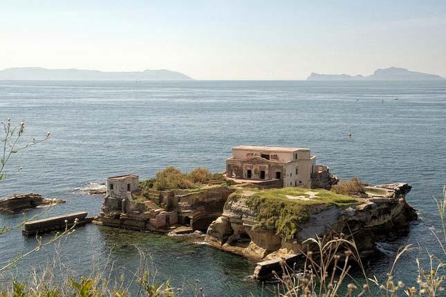 Az elátkozott Gaiola-sziget