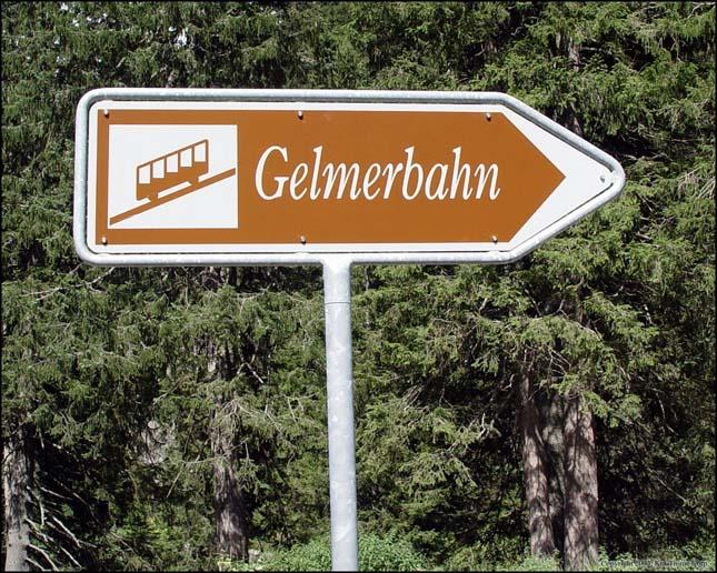 Gelmerbahn, a világ legmerdekebb siklója
