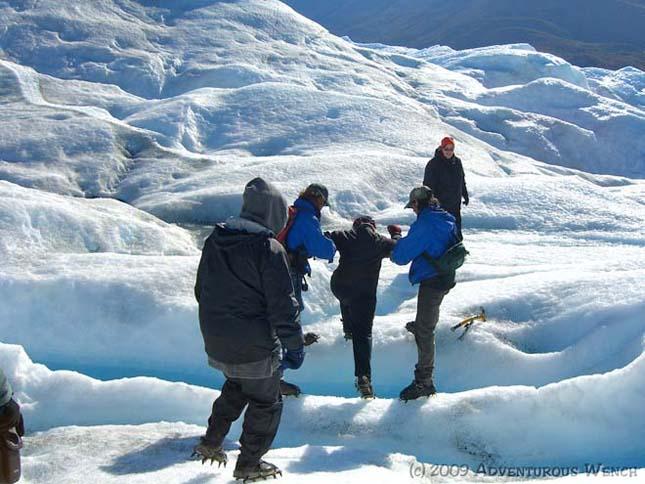 Perito Moreno gleccser, Argentína