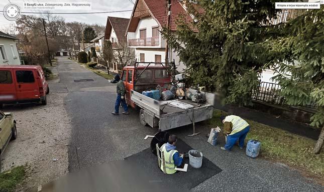Magyarországi Google Street View képek
