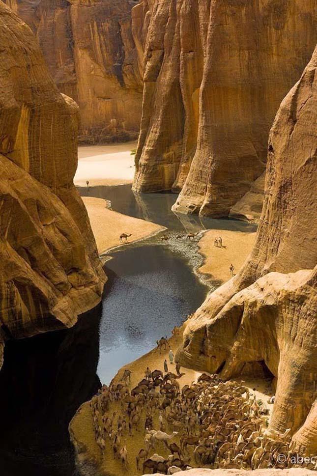 Guelta d'Archei