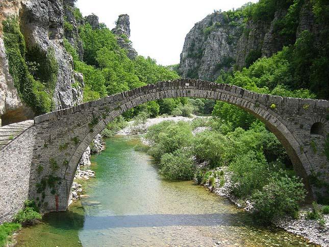 Öreg híd, Görögország