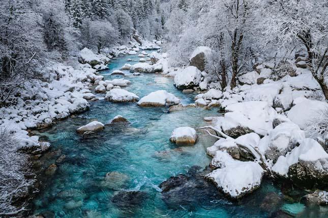 Soca folyó, Szlovénia