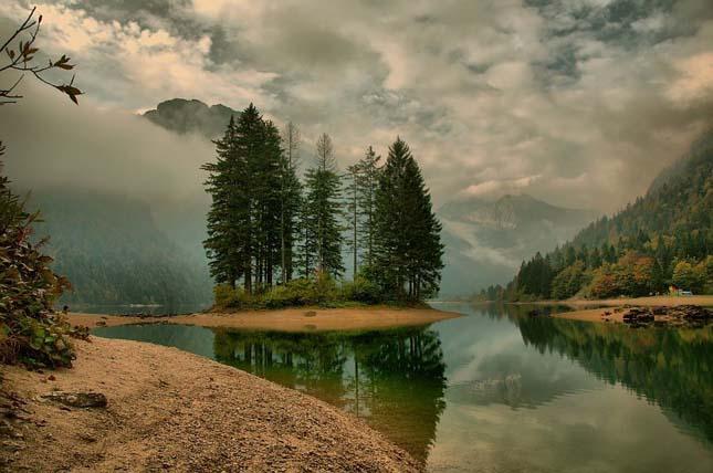 Predil tó, Ausztria