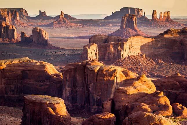 Hunt Mesa szikla formáció