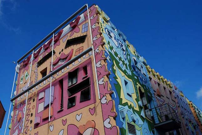 Happy Rizzi House, különös és vidám házak Németországban