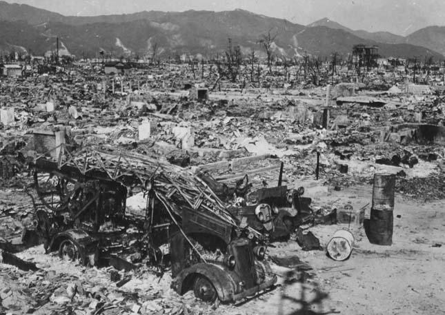 Hirosima és Nagaszaki az atombomba ledobása után