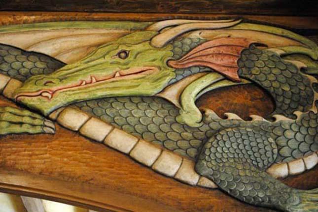 Igazi hobbit kocsma, az új-zélandi Zöld Sárkány Fogadó