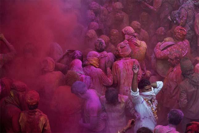 Holi fesztivál