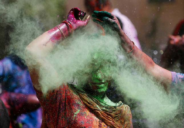 Holi festival of the colors