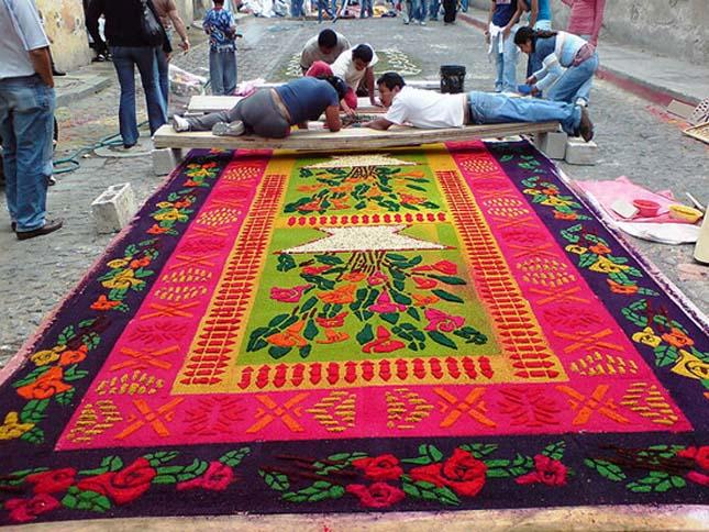 Homokszőnyegek, alfombras