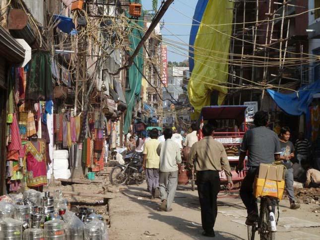 India utcakép