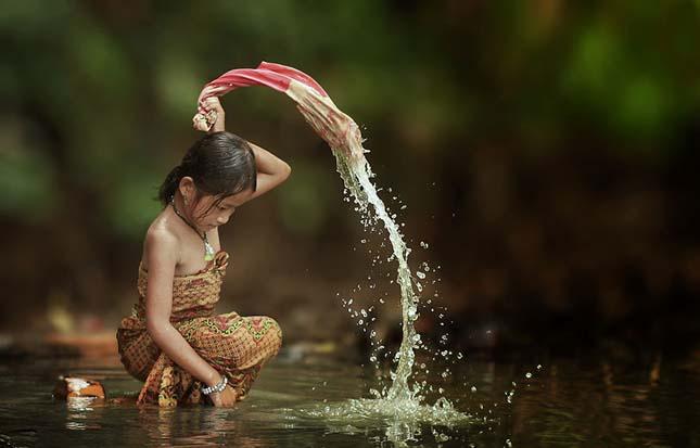 Indonéz falvak
