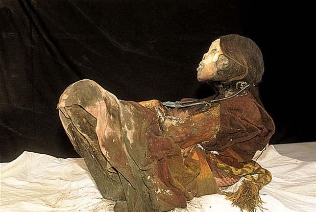 Inka múmiák