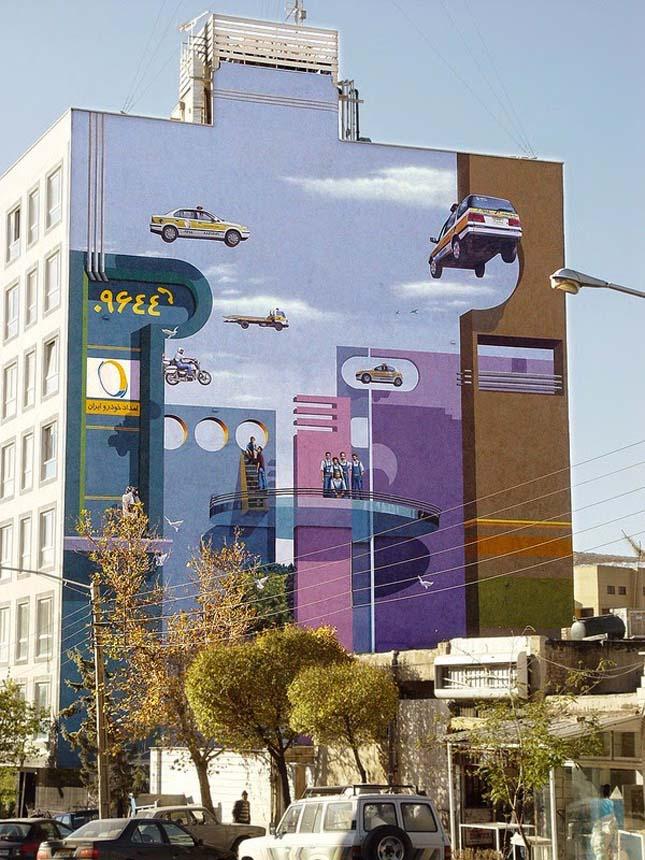Utcai művészet