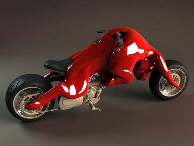 A híres Jaguár logóból készült motorok