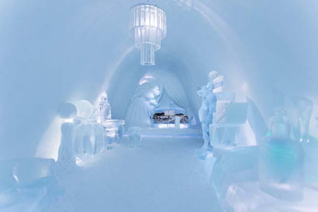 Jéghotel Svédországban