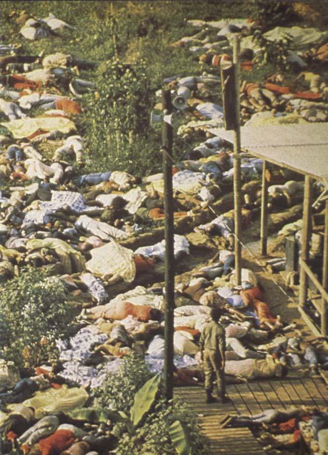 Jim Jones szekta - a tömeges öngyilkosság