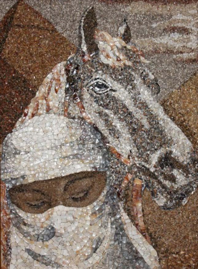 Kagylóból készült portrék, Svetlana Ivanchenko alkotásai