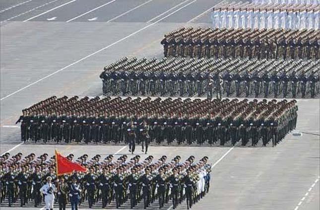 Kínai katonai parádé