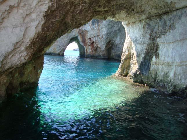 Kék-barlangok, Zakynthos