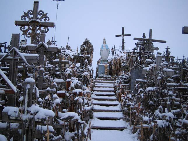 Keresztek hegye, Litvánia