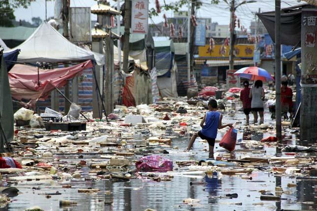 Kína vizeinek állapota