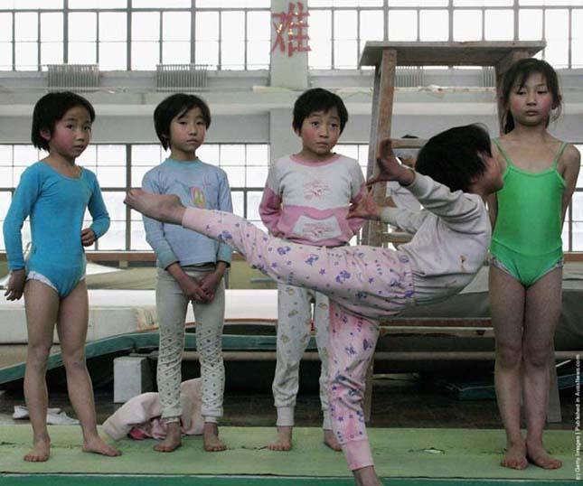 Kínai sportiskolák