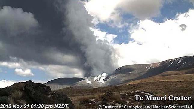 Kitört Mordor vulkánja, a Tongariro