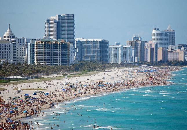 A tengerszint emelkedése több amerikai várost fenyeget