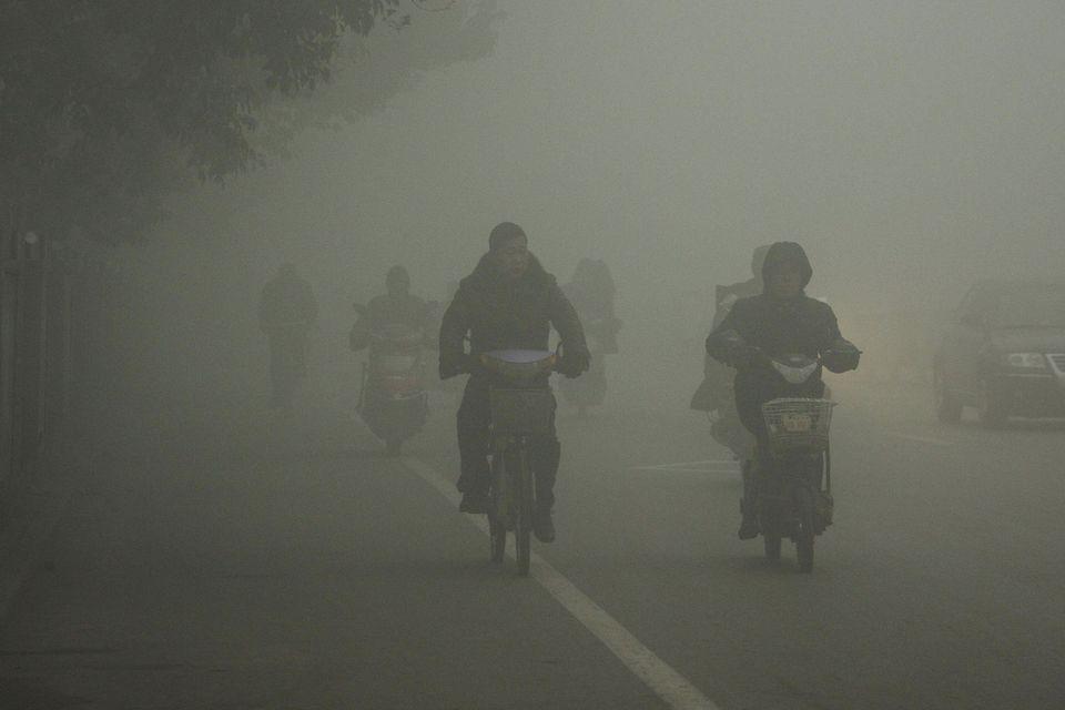 Konzerves levegőt árulnak Pekingben