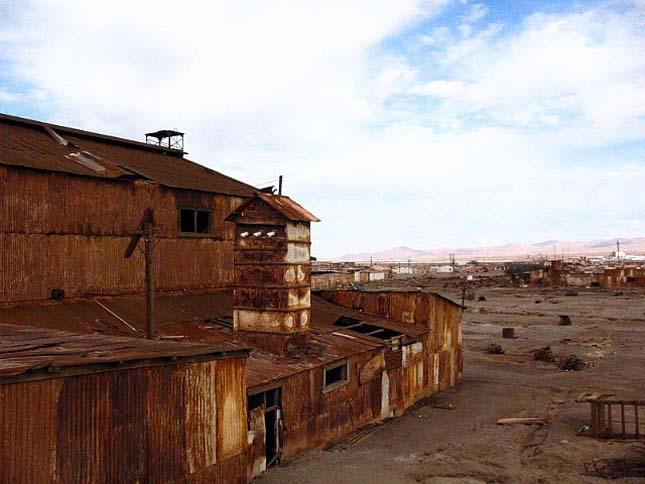 Chile szellemvárosai